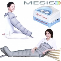 Pressoterapia MESIS Xpress Beauty SIX professionale (2 gambali + kit Slim Body + bracciale)