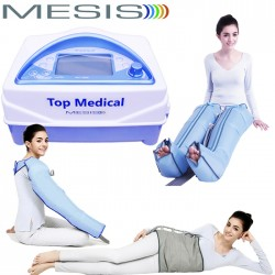 Pressoterapia Mesis Top Medical Premium con 2 gambali CPS + Kit Slim Body + bracciale CPS