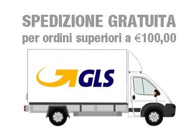 Spedizione gratuita per ordini superiori a Euro 100